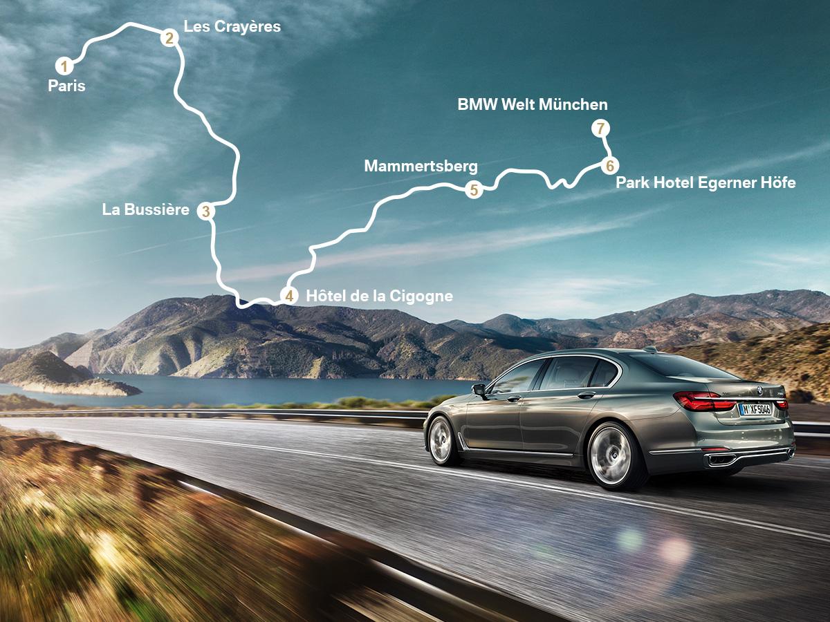100 Jahre BMW Route du Bonheur