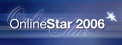 Online Star 2006 Logo