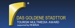 Das goldene Stadttor Logo